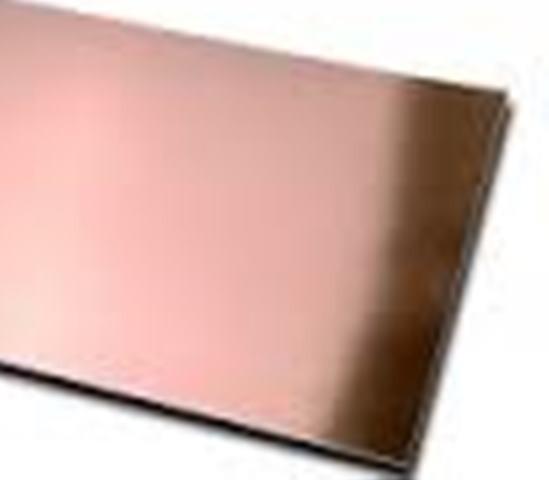 Chapas de cobre